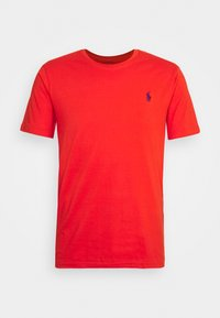 orangey red