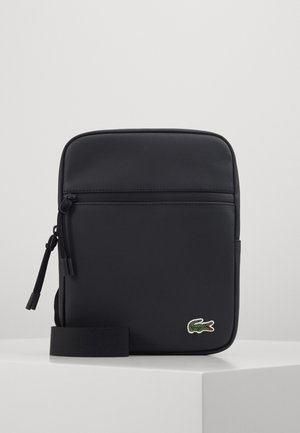 FLAT CROSSOVER BAG - Across body bag - noir