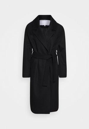 JULIE - Zimní kabát - black