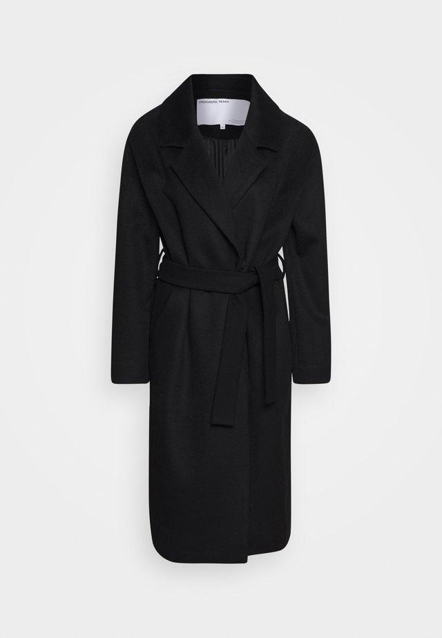 JULIE - Manteau classique - black