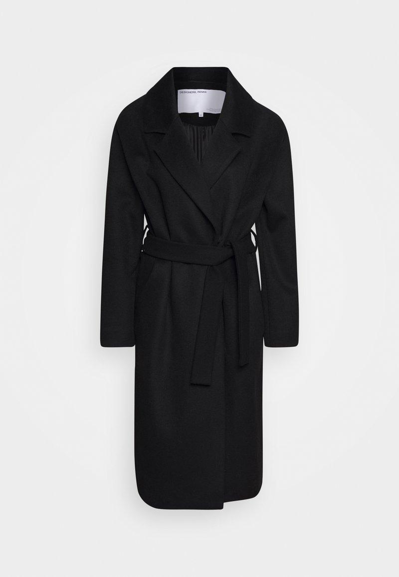 DESIGNERS REMIX - JULIE - Zimní kabát - black