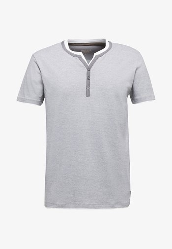 Print T-shirt - medium grey
