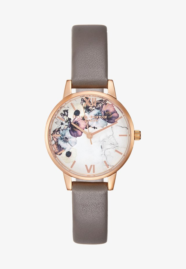 MARBLE  - Hodinky - rosegold-coloured