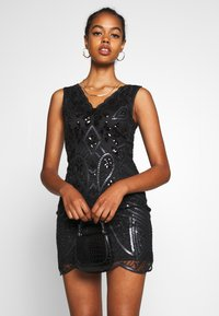 Molly Bracken - LADIES DRESS - Vestido de cóctel - black - 3