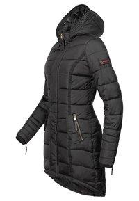 Navahoo - PAPAYA - Winter coat - black - 3