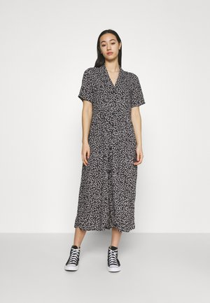 MATTAN DRESS - Shirt dress - black
