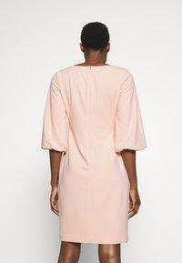 Lauren Ralph Lauren - LUXE DRESS - Žerzejové šaty - pink macaron - 2