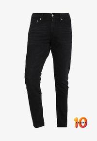 Calvin Klein Jeans - 026 SLIM - Džíny Slim Fit - copenhagen black - 4