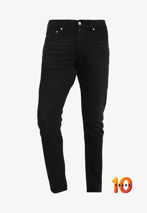 026 SLIM - Džíny Slim Fit - copenhagen black