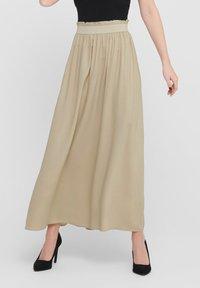 ONLY - Pleated skirt - white pepper - 0