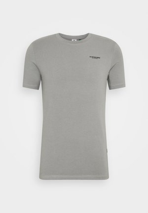 SLIM BASE R T S\S - T-shirt - bas - charcoal