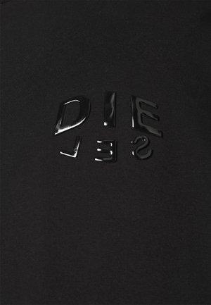 T-JUST-SLITS-A30 MAGLIETTA UNISEX - Triko spotiskem - black/black