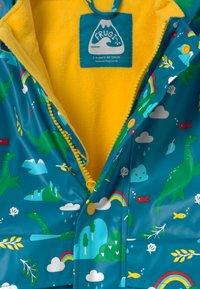 Frugi - PUDDLE BUSTER UNISEX - Waterproof jacket - dark blue - 2