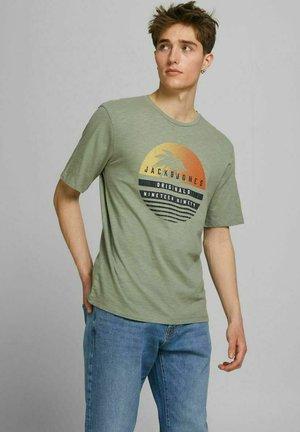 JORLAGUNA TEE CREW NECK - T-shirt con stampa - sea spray