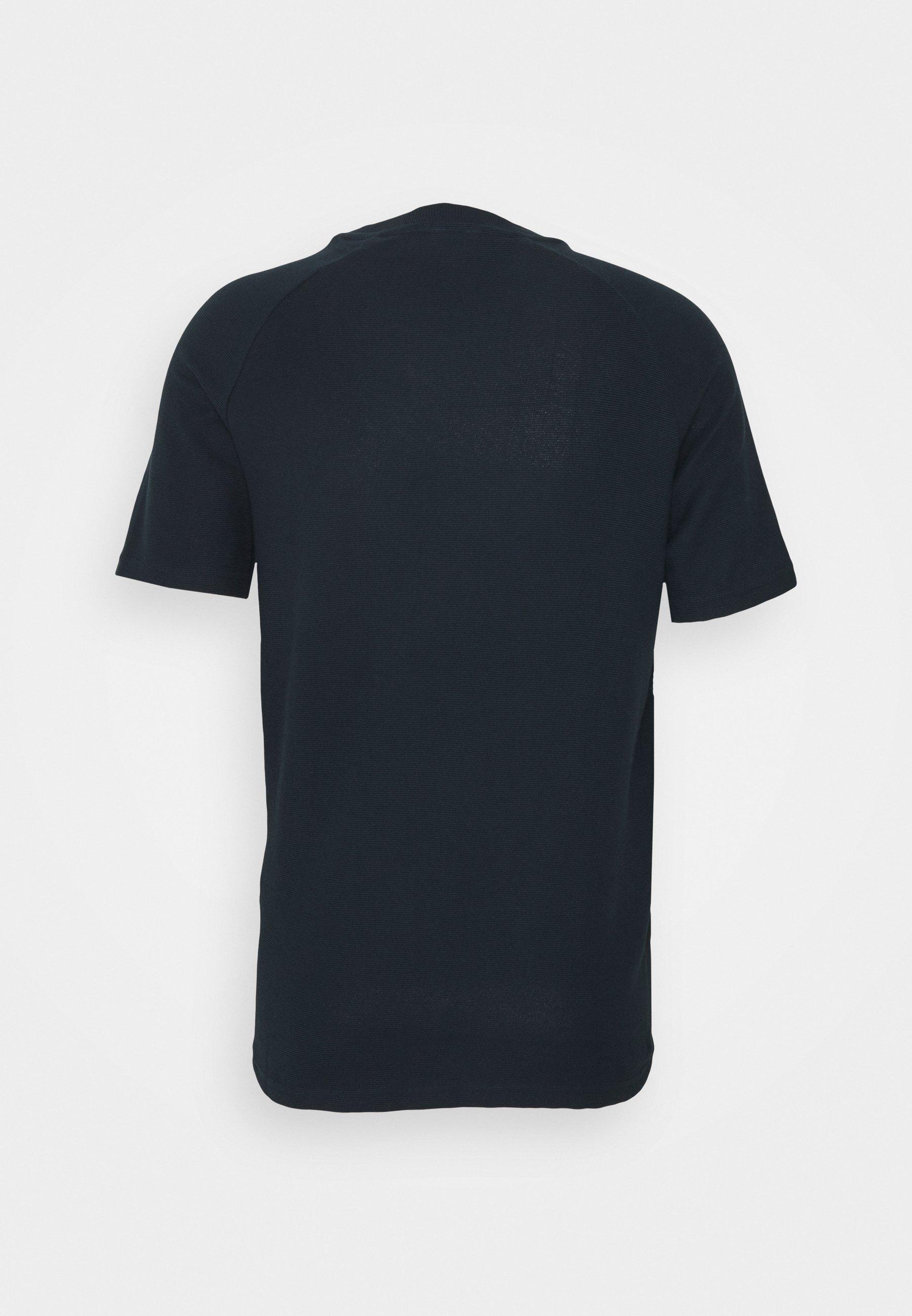 Homme JCOPOINT TEE CREWNECK - T-shirt basique