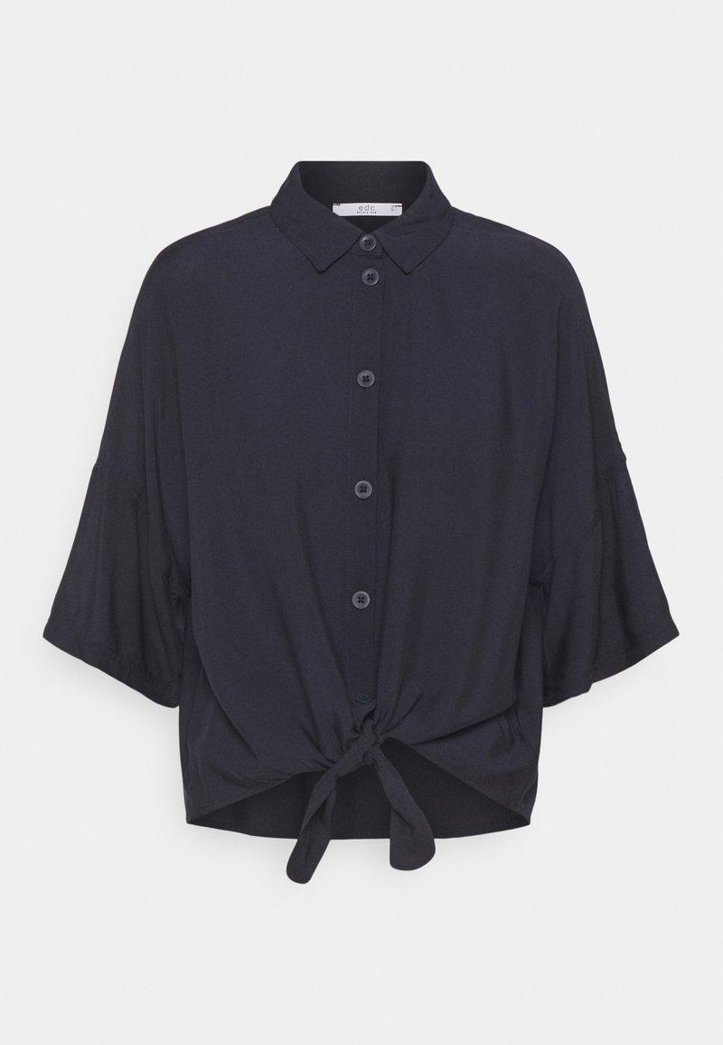 edc by Esprit - Button-down blouse - dark blue