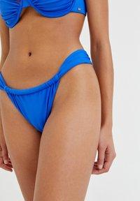 PULL&BEAR - Bikini bottoms - royal blue - 4