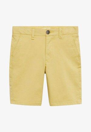 BERMUDA - Short - pastelgeel