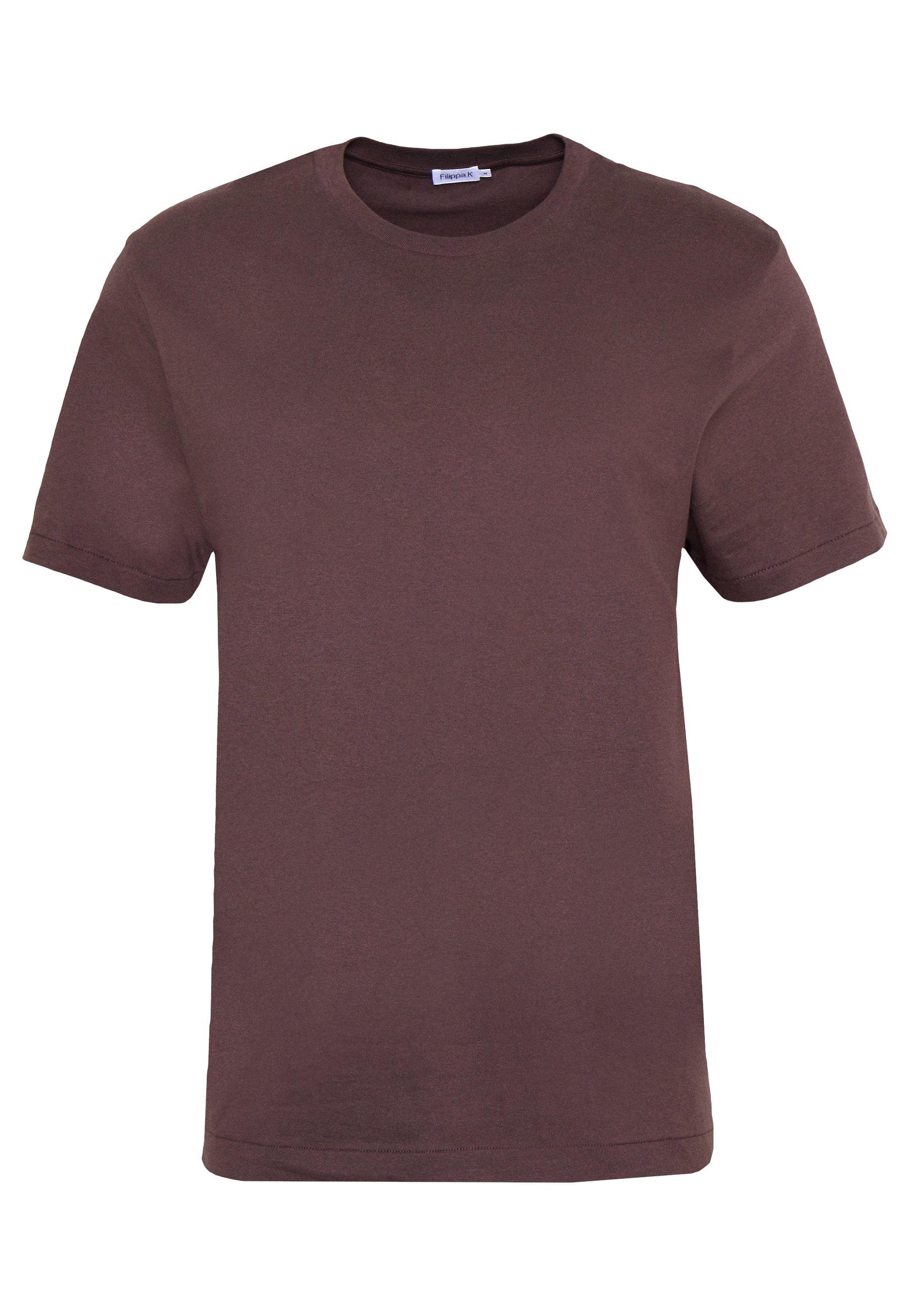 Filippa K SINGLE CLASSIC TEE - T-shirt basique - dark plum