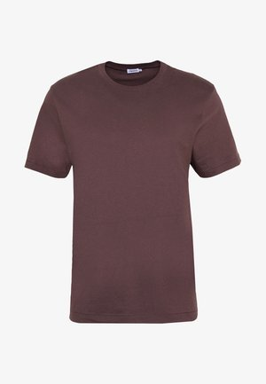 SINGLE CLASSIC TEE - Basic T-shirt - dark plum