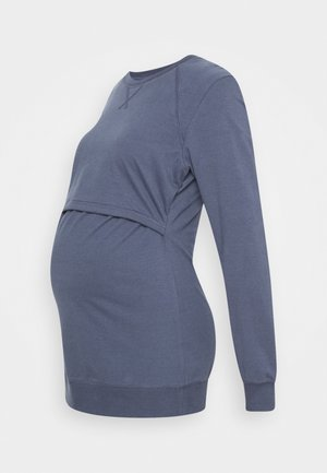 WARMER - Sweatshirt - steel blue