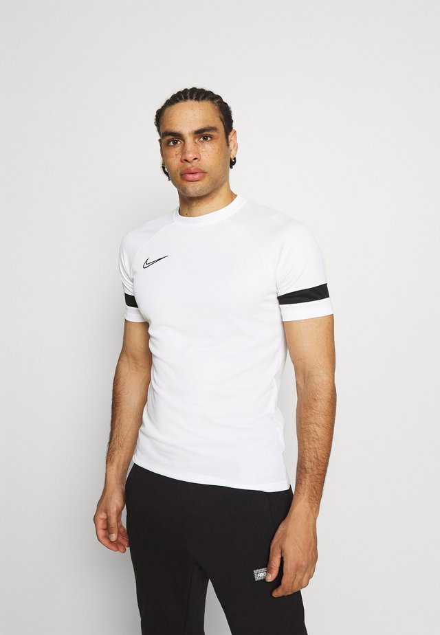 ACADEMY 21 - Camiseta estampada - white/black