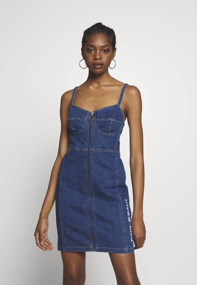 RETRO DRESS - Vapaa-ajan mekko - blue