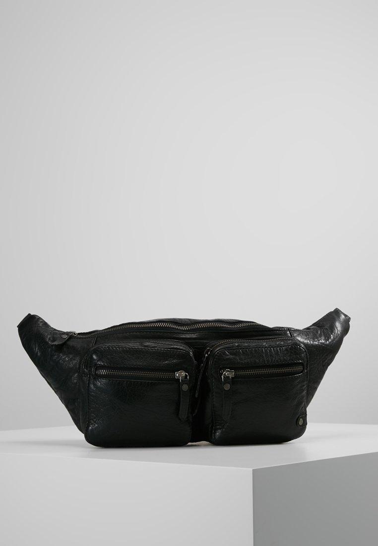 DEPECHE - BUMBAG - Bum bag - black