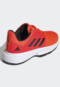 adidas Performance - COURTJAM - Clay court tennis shoes - orange - 2