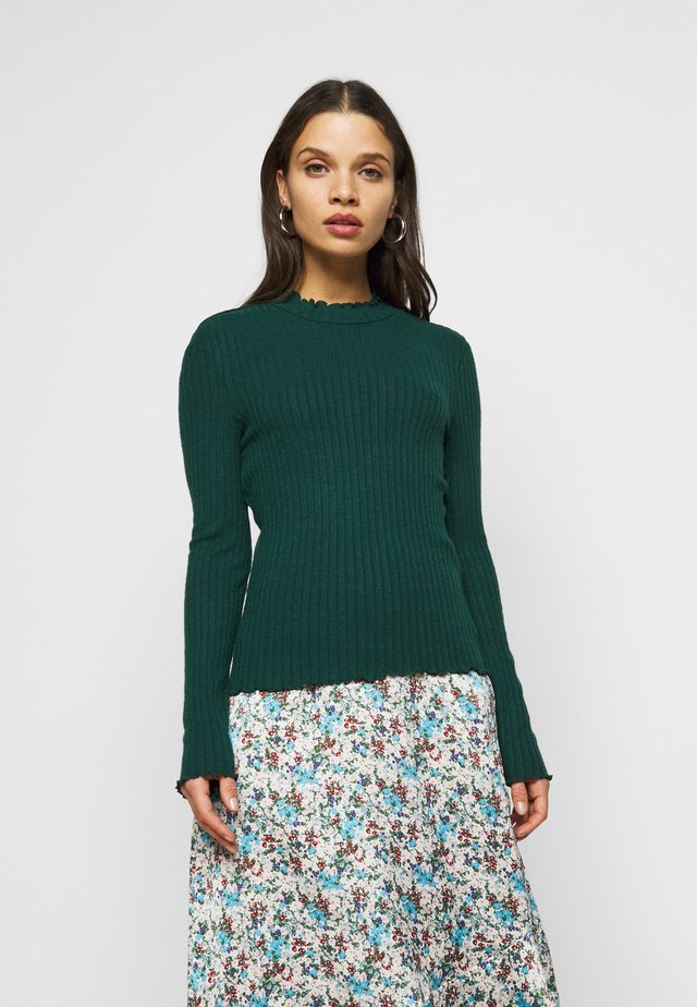 NMBERRY HIGH NECK - Strickpullover - ponderosa pine