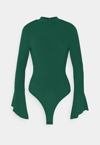 Glamorous - OPEN BACK BODYSUIT - Long sleeved top - forest green - 0