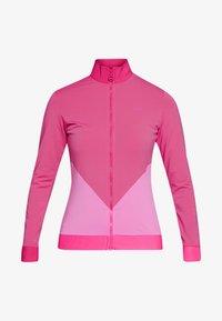 J.LINDEBERG - LIZA LIGHT MID - Sportovní bunda - pop pink - 3