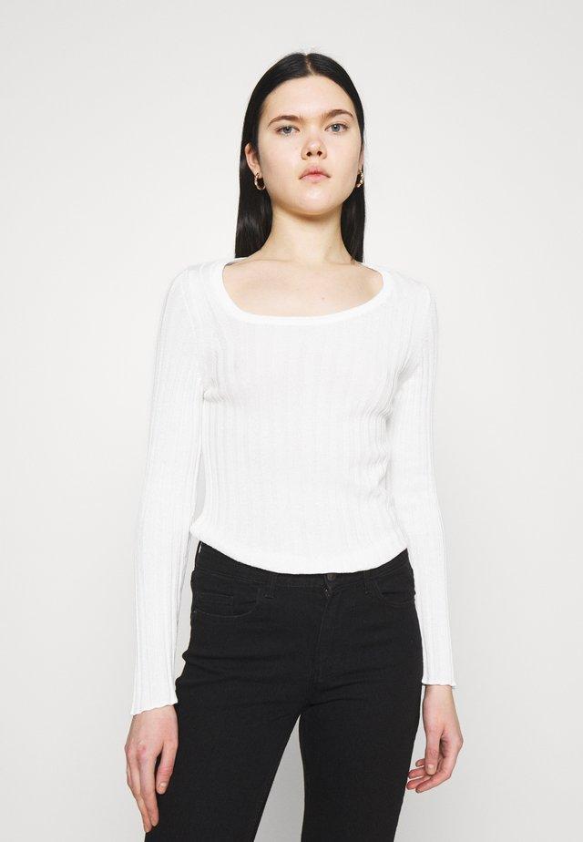 STEFANIE GIESINGER ASYMMETRIC - Maglietta a manica lunga - off white