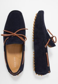Pier One - Mocassins - dark blue - 1