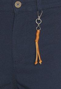 Jack & Jones - JJIACE JJLINEN  - Trousers - navy blazer - 2