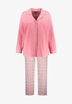 PLUS SIZE  - Pyjama set - flamingo pink multi
