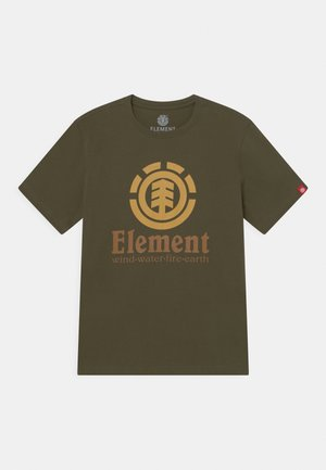 VERTICAL YOUTH - T-shirts med print - army