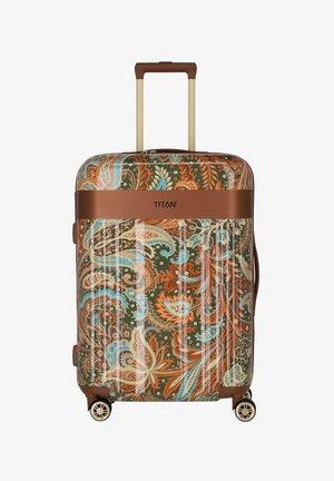 SPOTLIGHT FLASH - Wheeled suitcase - paisley bronze