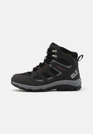 VOJO 3 TEXAPORE MID - Hiking shoes - dark steel/purple