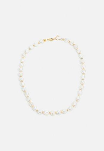 BAROQUE FRESHWATER NECKLACE UNISEX - Necklace - white
