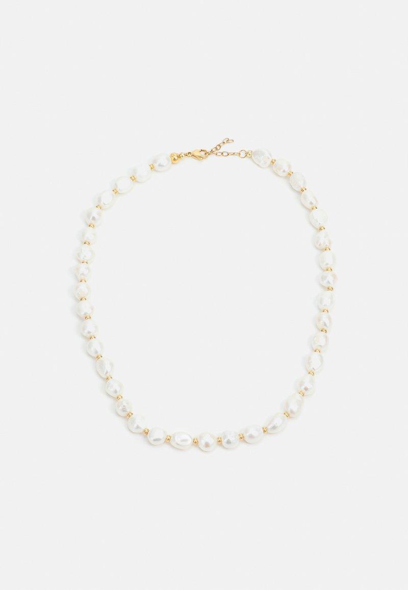 Nialaya - BAROQUE FRESHWATER NECKLACE UNISEX - Necklace - white