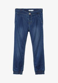 Name it - Straight leg jeans - dark blue denim - 0