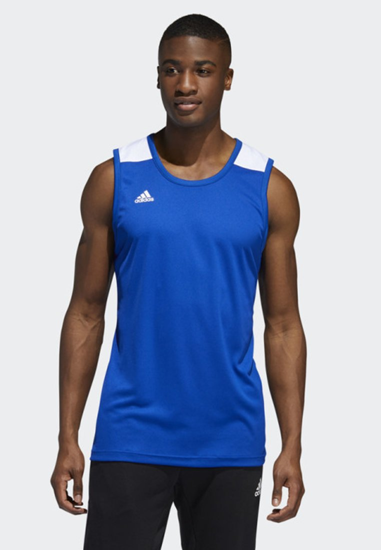 adidas Performance - CREATOR 365 JERSEY - Funktionsshirt - blue/white