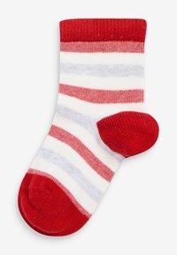 Next - 5 PACK  - Socks - red - 4