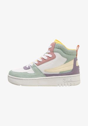 High-top trainers - bay / pastel lilac
