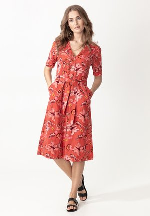 Robe chemise - coral