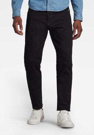 SCUTAR 3D SLIM TAPERED - Jeans slim fit - pitch black
