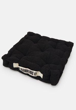 FLOOR CUSHION UNISEX - Other accessories - black