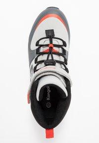 KangaROOS - X HYDRO - Höga sneakers - steel grey/red - 1