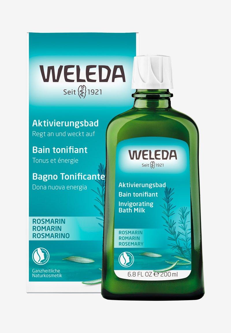 Weleda - ROSEMARY INVIGORATING BATH MILK - Badskum - -
